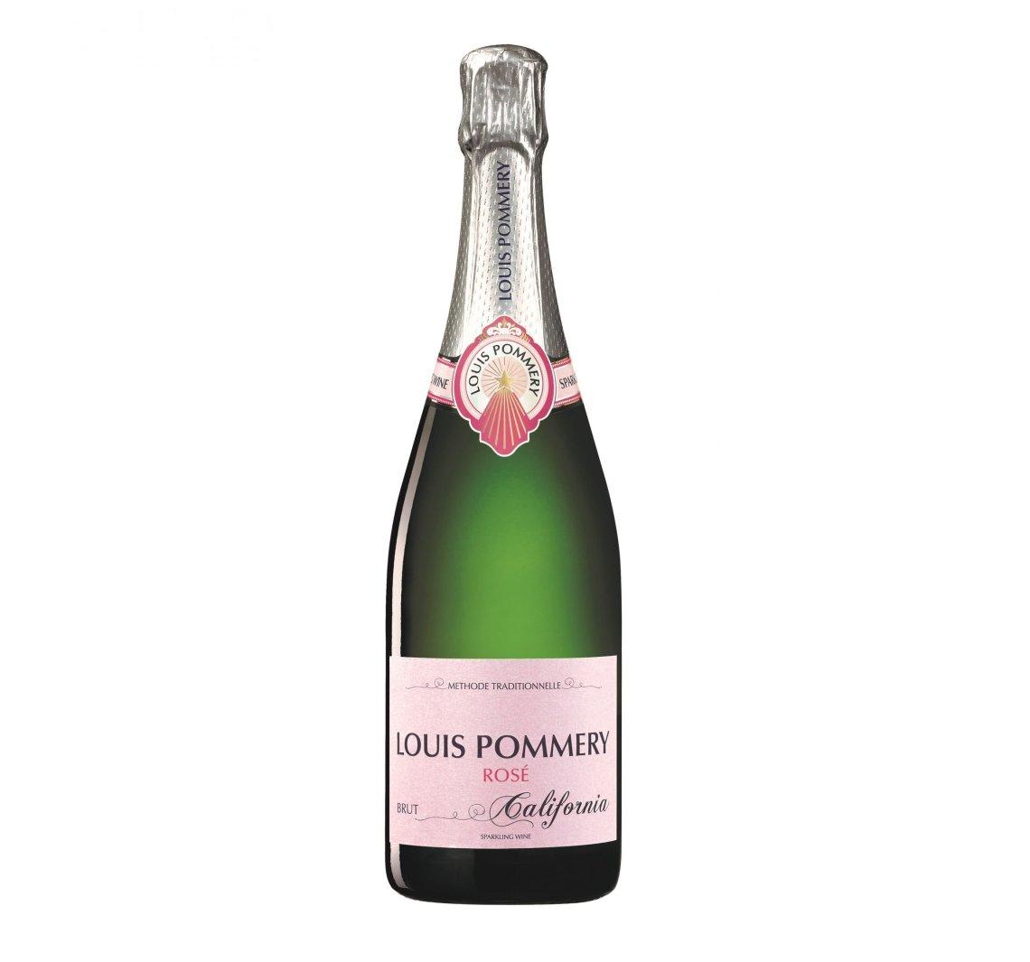 NV Louis Pommery Brut Rose California