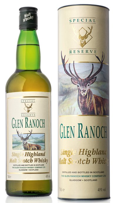 Glen Ranoch Special Reserve Highland Single Malt