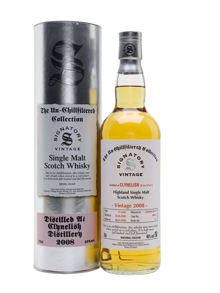 Signatory Clynelish Unchillfiltered 11 Years Old