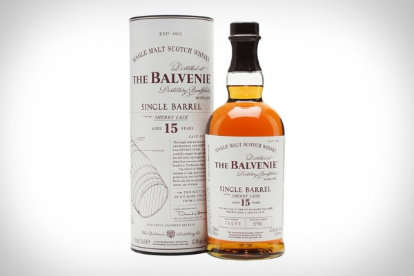 BALVENIE 15 SINGLE BARREL SCOTCH WHISKY
