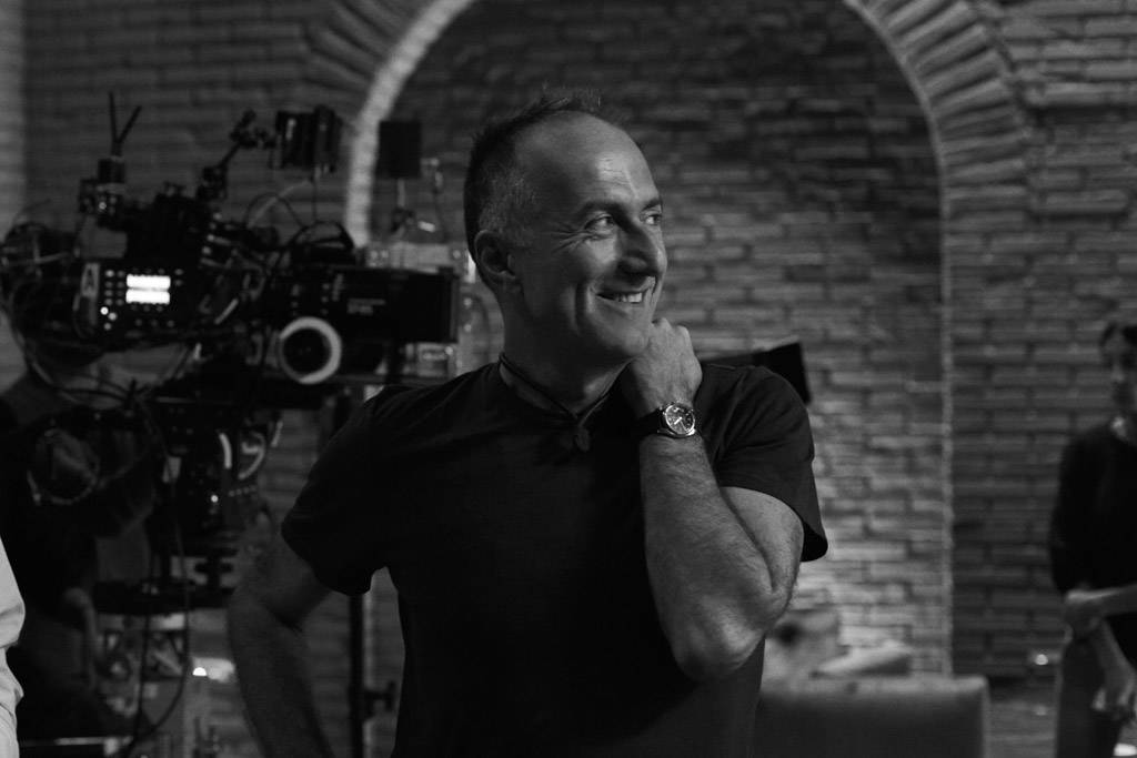 Stefano Sollima behind the scenes of the Campari Red Diaries short movie