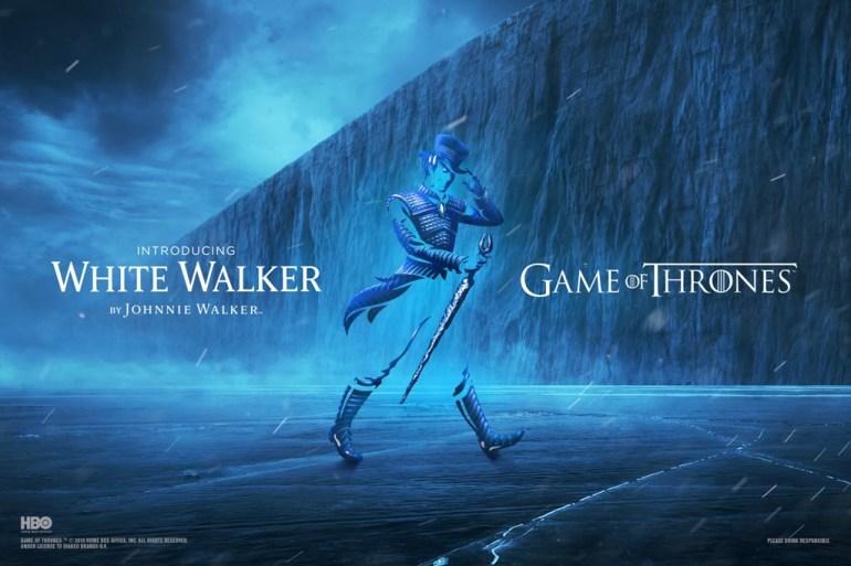 White walker by Johnnie Walker