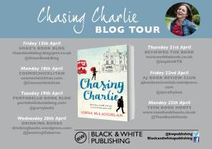 Chasing Charlie Launch invite
