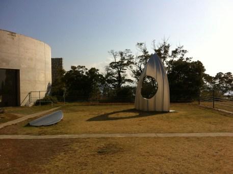 Shinro Ohtake Shipyard Works: Stern with Hole , 1990