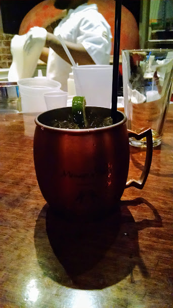 American Mule from Wood Pizza New Orleans