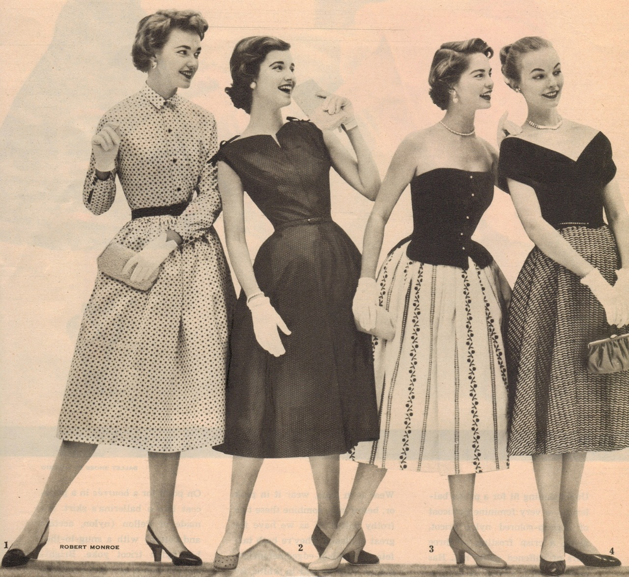 Throwback 50s Fashion  As I Was Saying