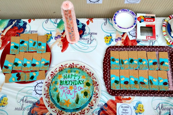 Under the Sea Cake Table