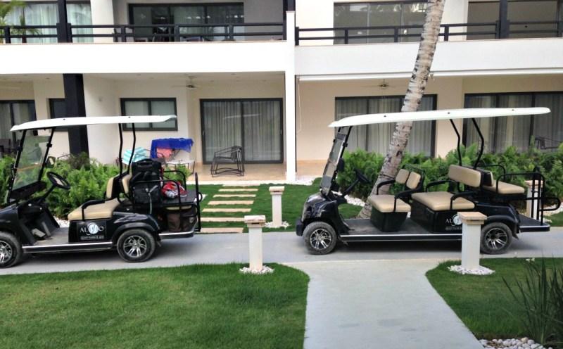 Aligio Hotel Golf Carts