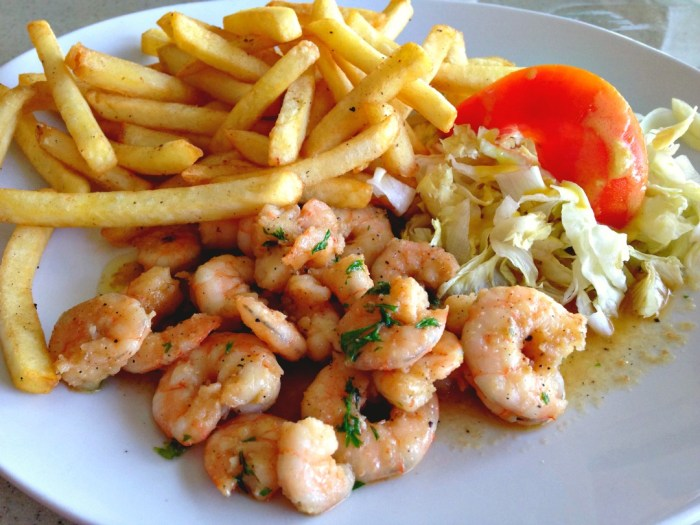 Coco Pizza Shrimp Las Terrenas