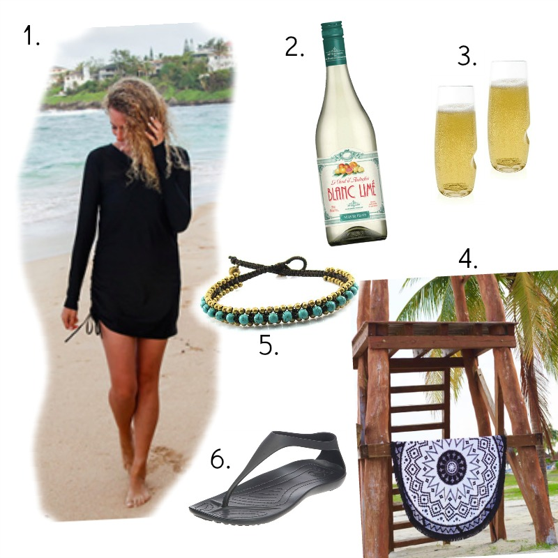 Valentine's Day Beach Style Casual
