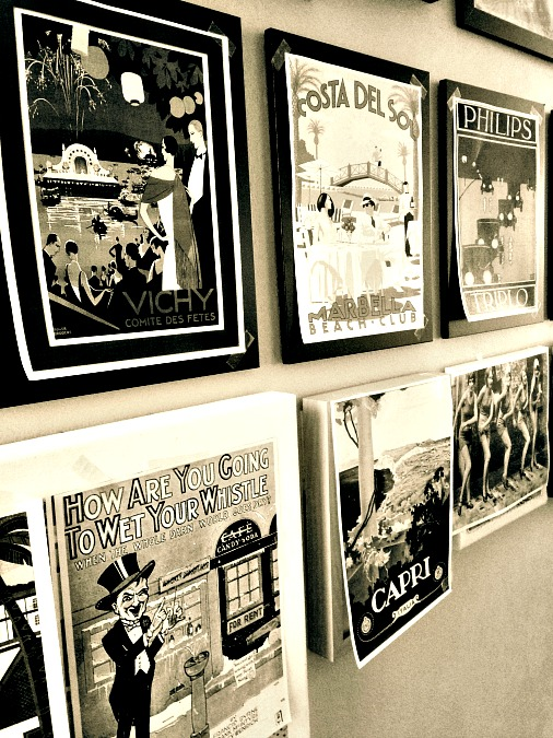 Vintage Poster Print Outs