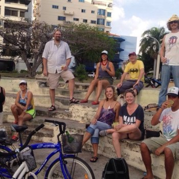 Bike Pub Crawl in Santo Domingo