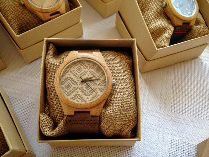 wood watches and accessories