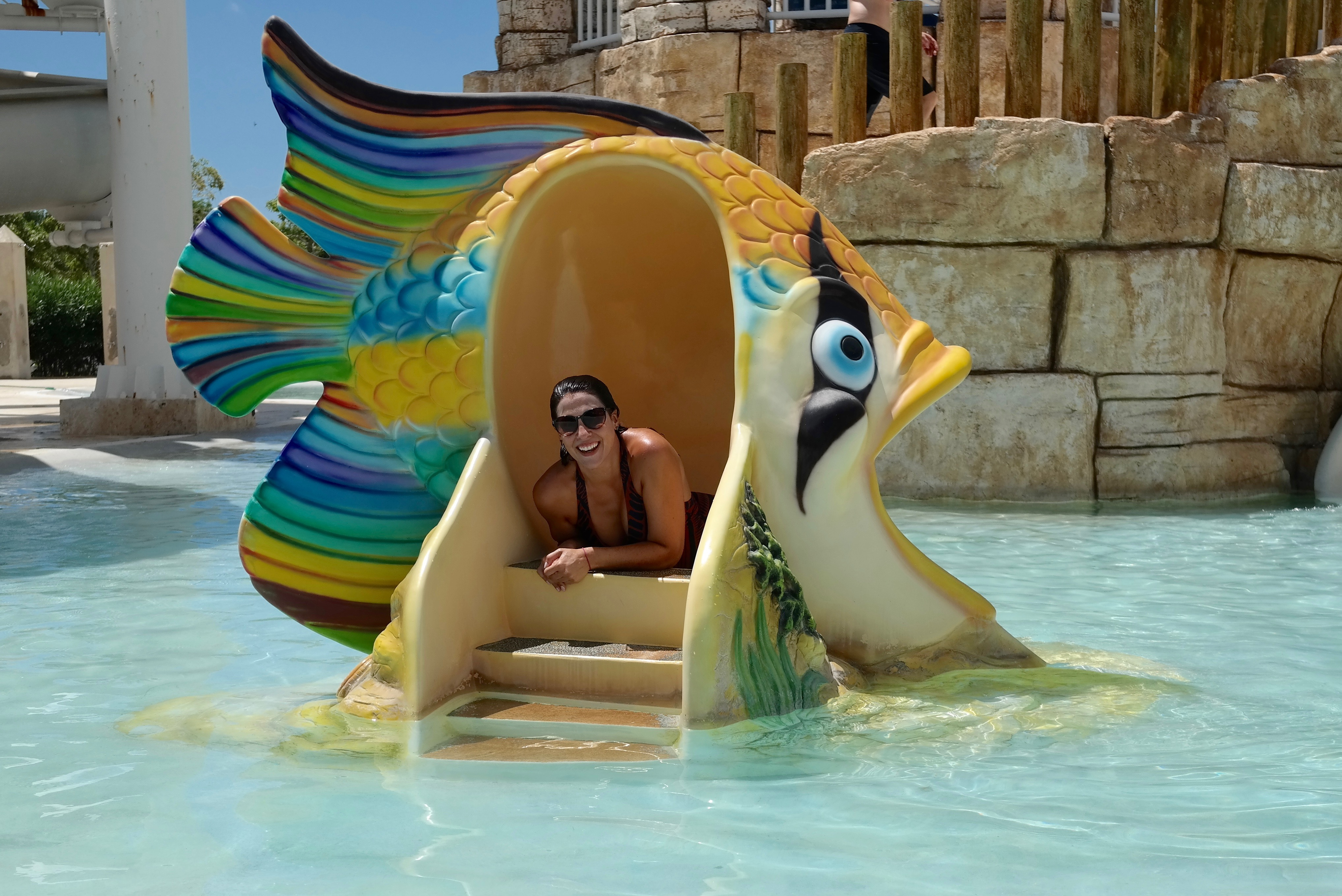 Water Park fun for adults at Cadaques
