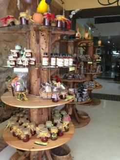 honey and jams at ChocoMuseo