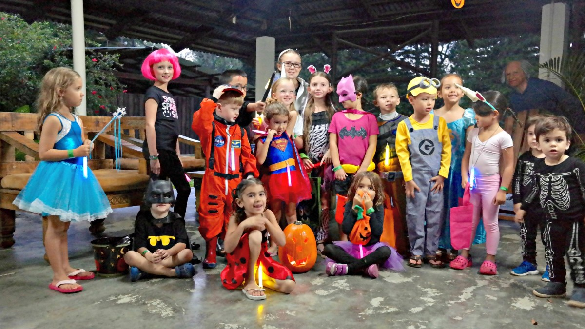going trick or treating Dominican Republic