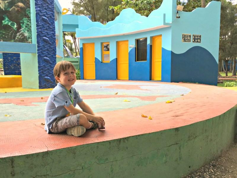 Playground at National Aquarium Santo Domingo
