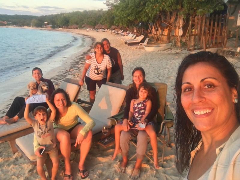 Punta Rucia sunset