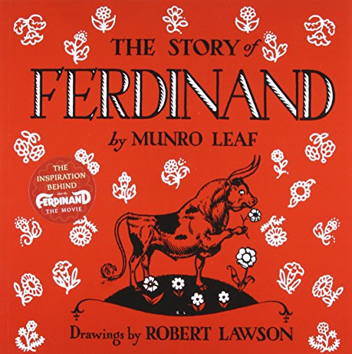 gift guide for kids children's book Ferdinand