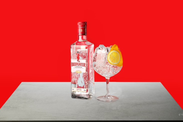Beefeater Gin and tonic