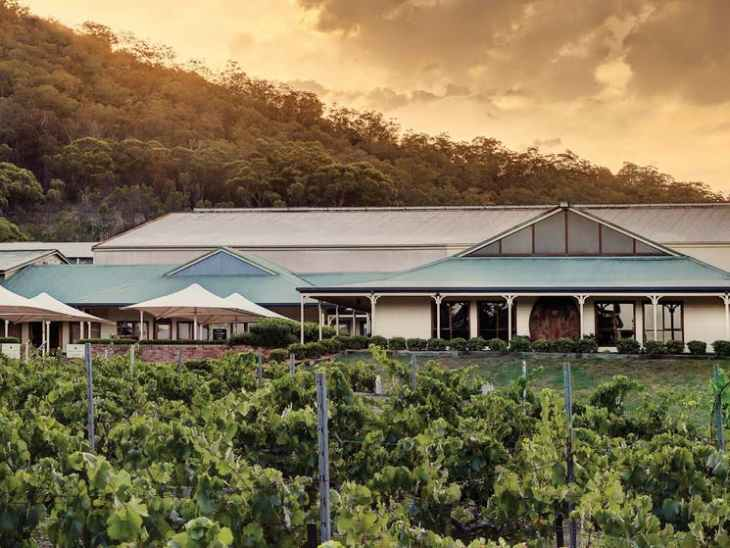 Mount Pleasant Winery and Cellar Door in the Hunter Valley, owned by McWilliam's Wines