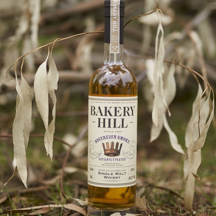 Sovereign Smoke, a new peated whisky from mainland Australian whisky pioneers Bakery Hill Distillery