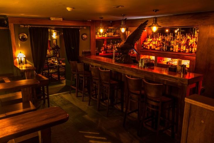 The Dark Horse bar in Bath, UK
