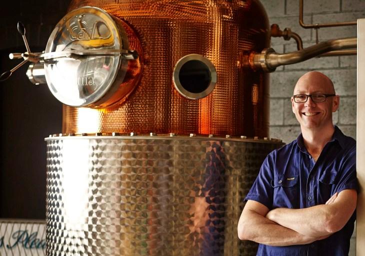 Four Pillars Gin head distiller Cameron Mackenzie