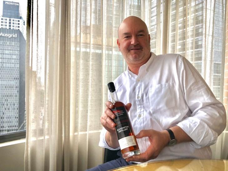 Tasmanian Independent Bottlers founder Tim Duckett