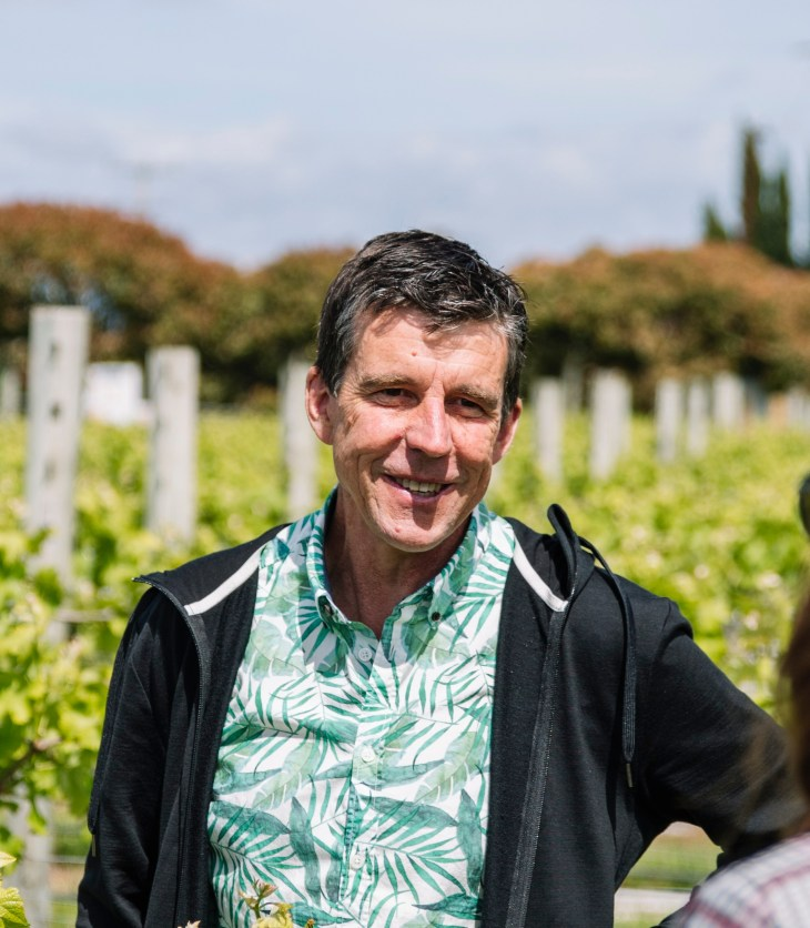 Dr David Jordan, NZ Lighter Wines program manager