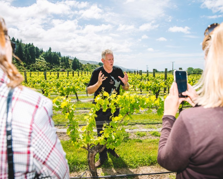 Dr John Forrest explains how he makes low alcohol wine in New Zealand