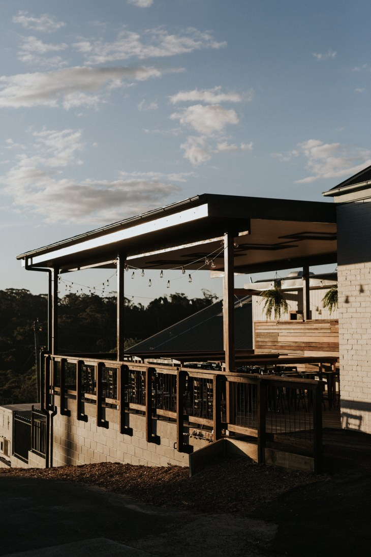 The exterior of the new Blue Mountains brewery founded by DJ & Harriet McCready, Mountain Culture