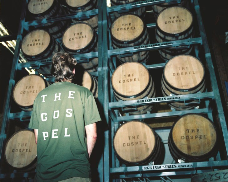 Melbourne-based rye whiskey company, The Gospel Distillers