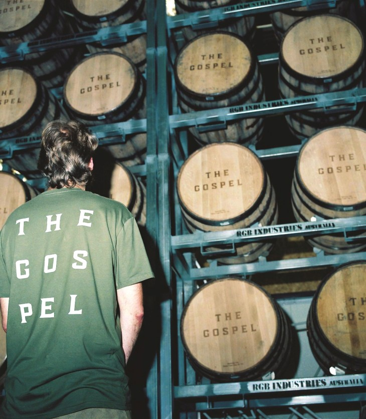 Melbourne-based rye whiskey company, The Gospel Distillers