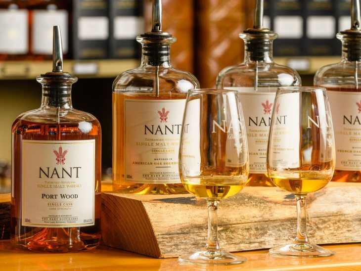 Nant Whisky, part of the Lark Distilling Co portfolio