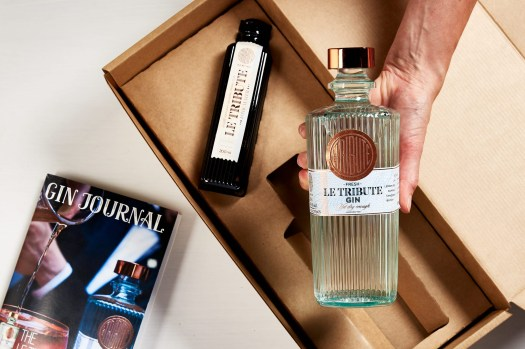 A bi-monthly member box from the Gin Society