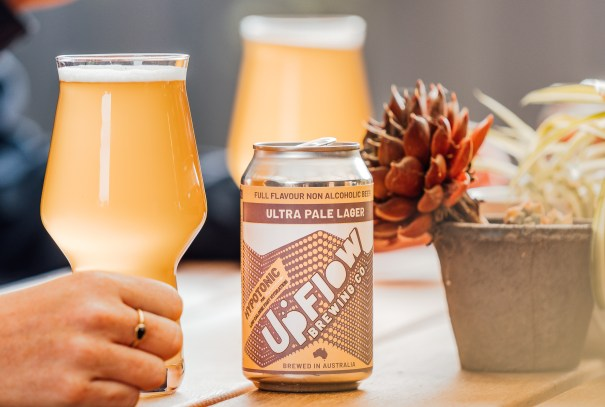UpFlow Brewing Ultra Pale Lager