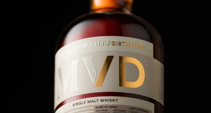 The new branding for McLaren Vale whisky distillery