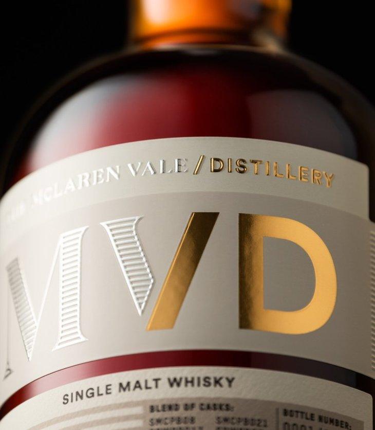 The new branding for McLaren Vale whisky distillery