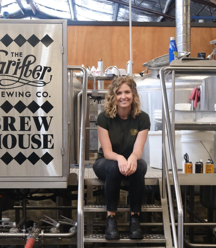 The Grifter Brewing Company head brewer Karli Small