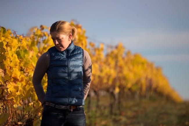 Samantha Connew of Stargazer Wines, Coal River Valley, Tasmania