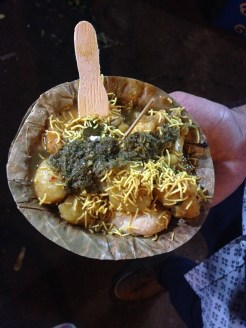 Street Food-Dahi Bara Aloo dum