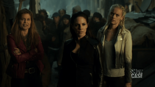 Bo, Tamsin, and Acacia in End of a Line