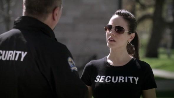 Bo as security in Oh Kappa, My Kappa
