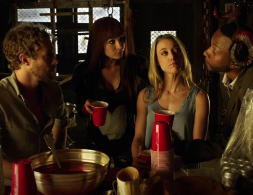 Dyson Kenzi Lauren and Hale in Groundhog Fae