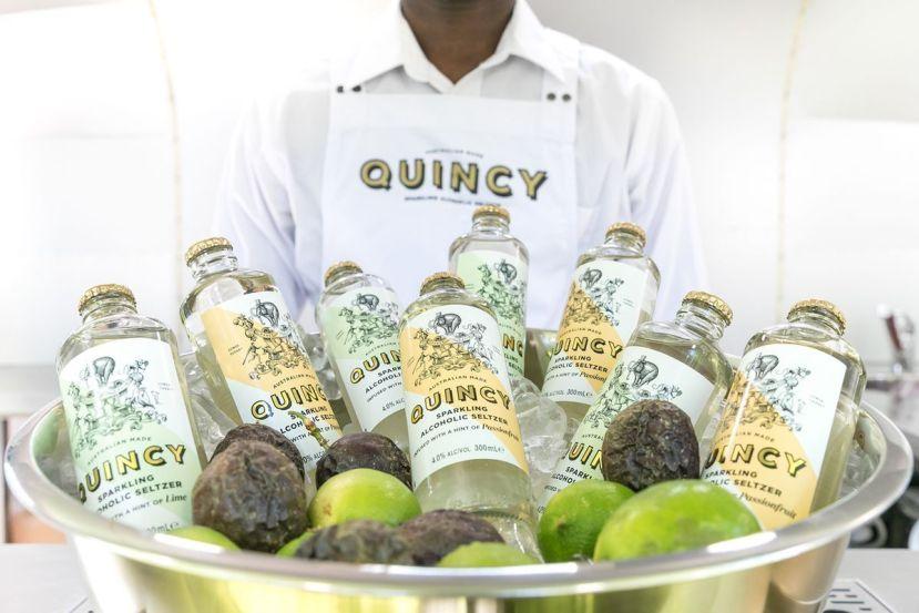 Quincy alcoholic seltzer