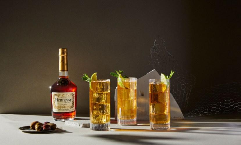 Hennessy Cognac; premium spirits