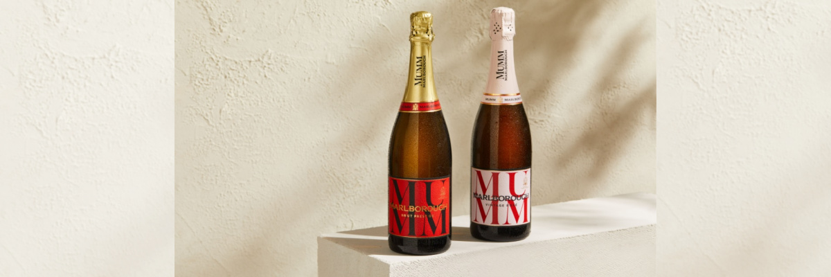 Mumm Marlborough; New Zealand sparkling wine