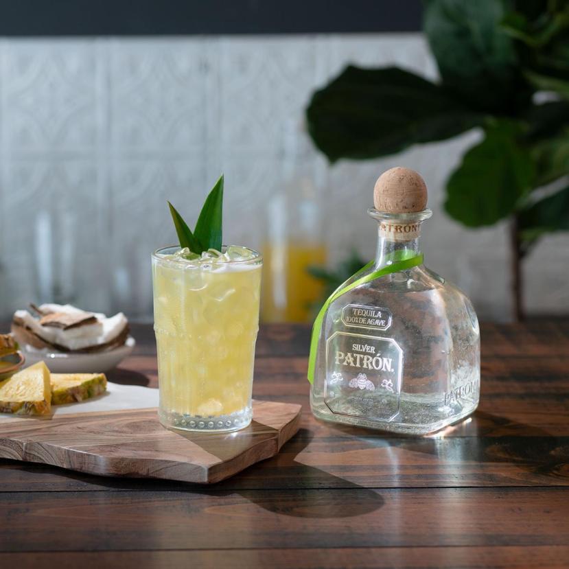 Patron tequila; premium spirits