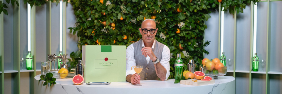 Tanqueray; Stanley Tucci